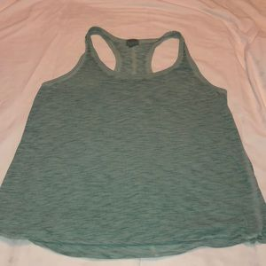 Mossimo Turquoise Racerback Tank